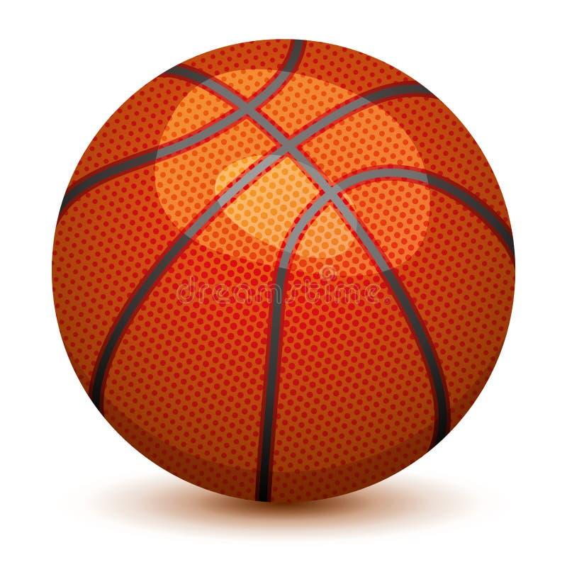 Vector Basket Ball Stock Photography