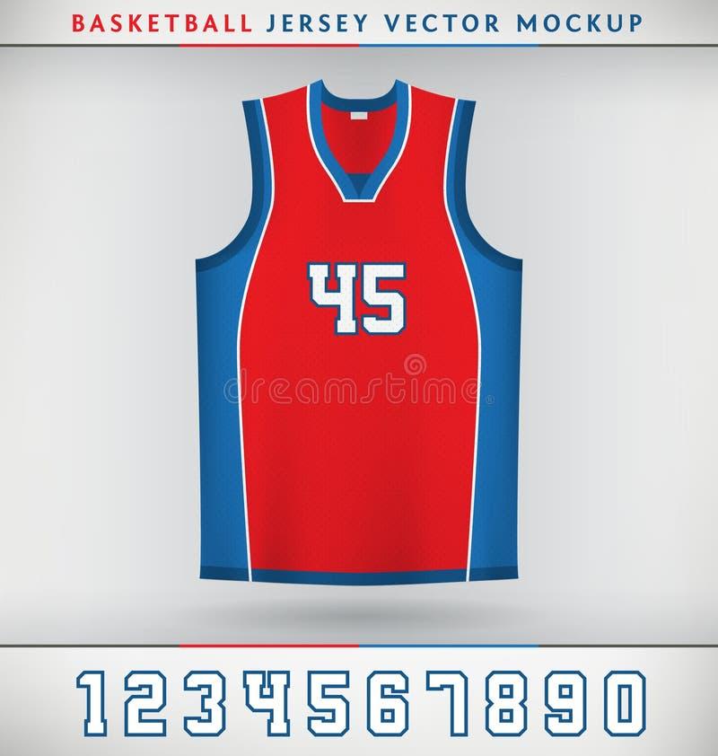 Download Basket-ball Jersey illustration de vecteur. Illustration du vêtements - 45354829