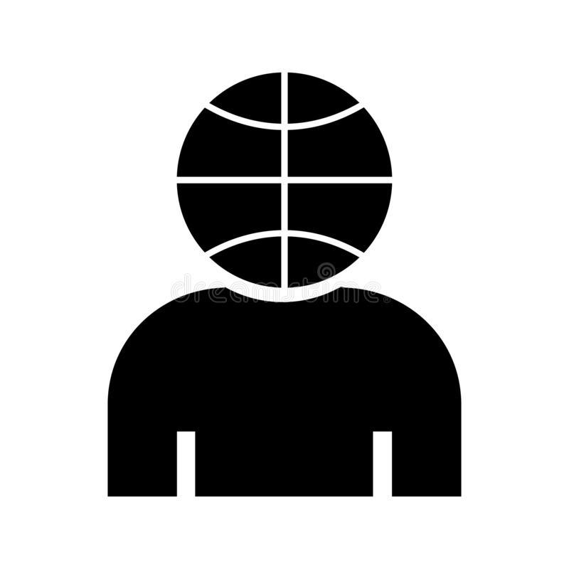 Basket ball minded icon white background vector vector illustration