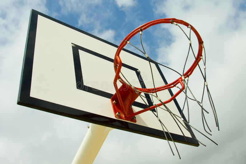 Basket Ball Net stock photo