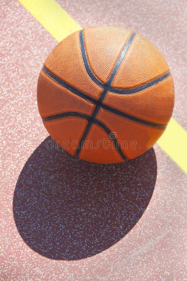 Basket-ball Orange Images stock