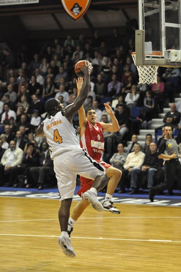 Basket-ball pro A photo libre de droits