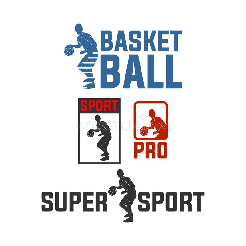 Basket ball pro for super sport club royalty free stock photos
