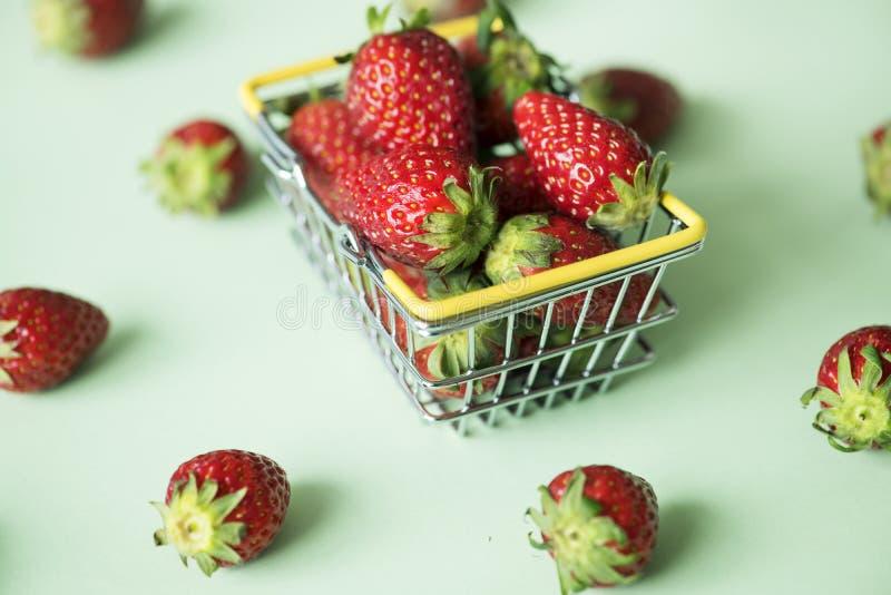 Basket, Berry, Breakfast stock photo