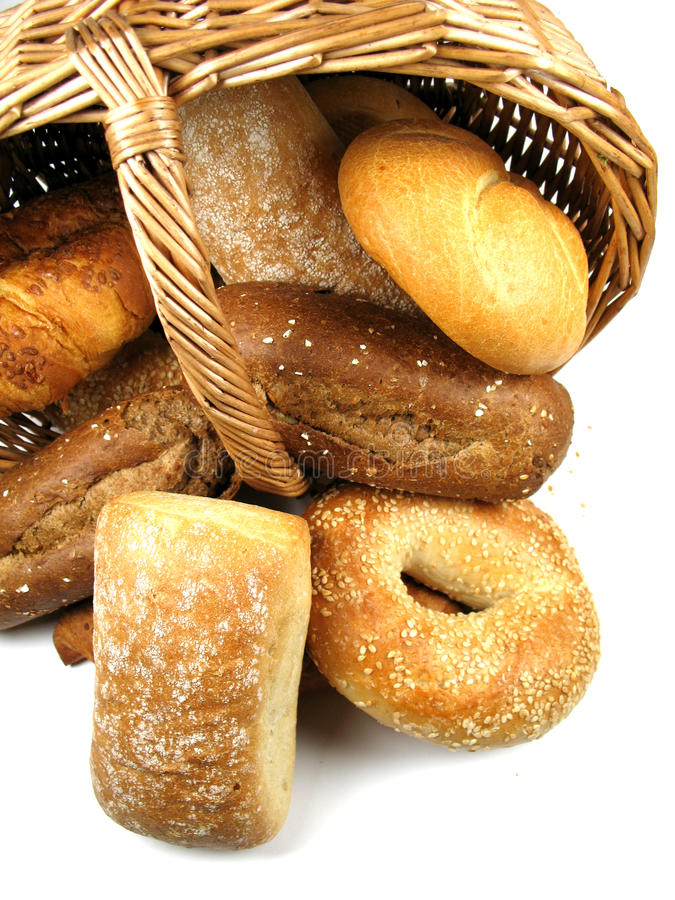 Download Basket with bread stock photo. Image of food, buns, bread - 10903204