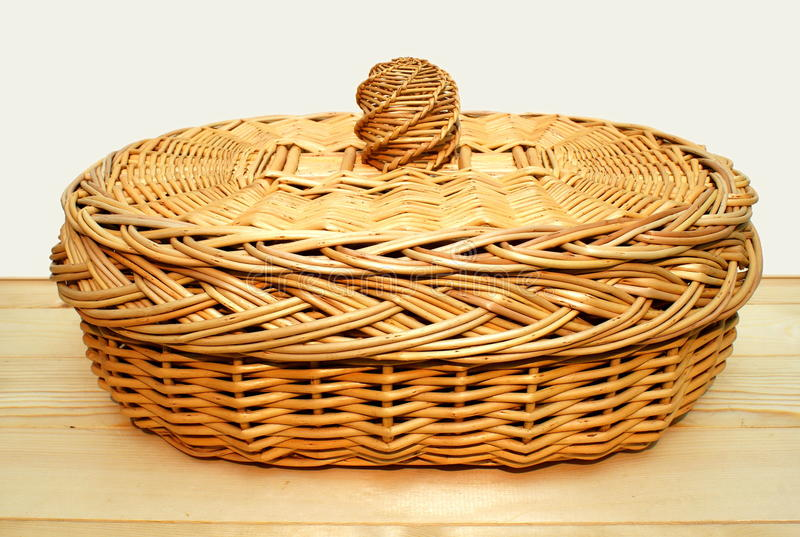 Download Basket for bread. stock photo. Image of weaving, creativity - 12016072