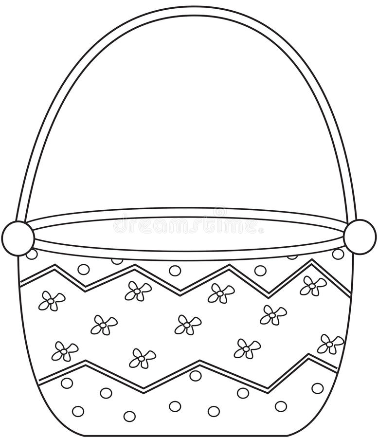 Dorable Basket Coloring Page Ensign
