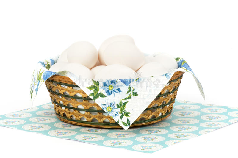 Download Basket with Easter eggs stock image. Image of flora, blossom - 39505997