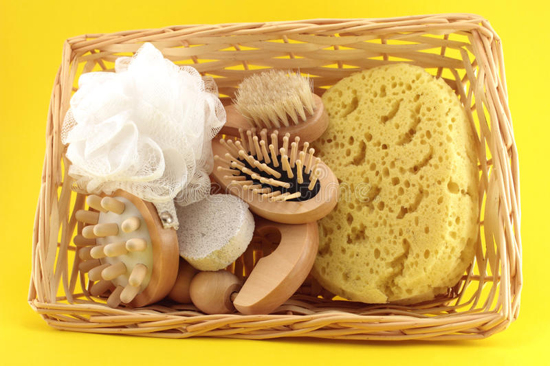 Download Basket Of Goods For Personal Care Stock Photo - Image: 36280640