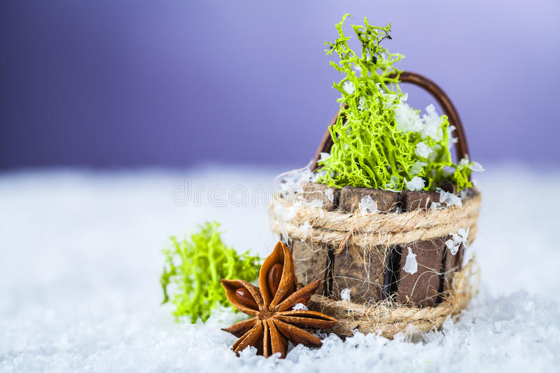 Download Basket with grass stock photo. Image of merry, grass - 27679936