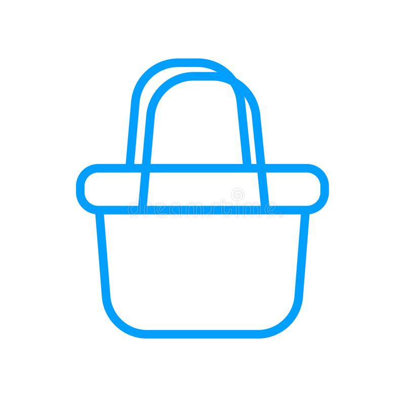 Basket  icon vector illustration