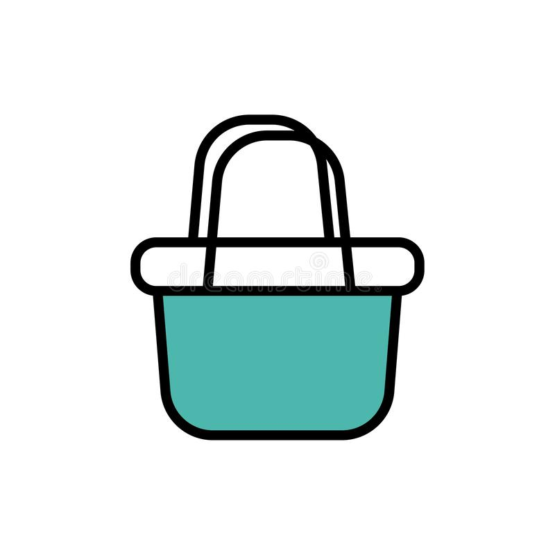 Basket  icon royalty free illustration
