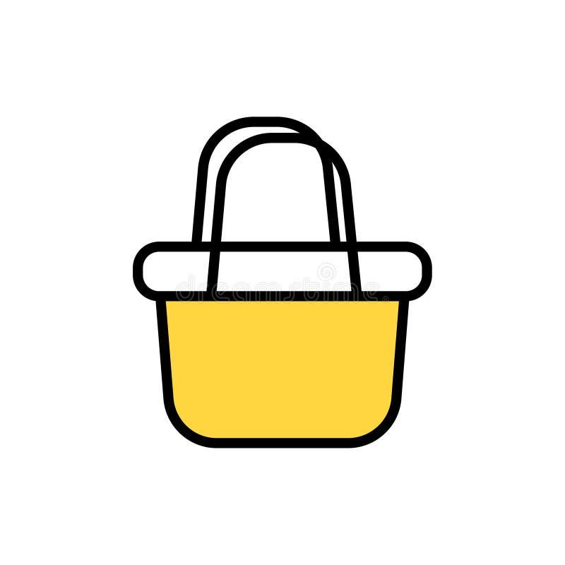 Basket  icon stock illustration