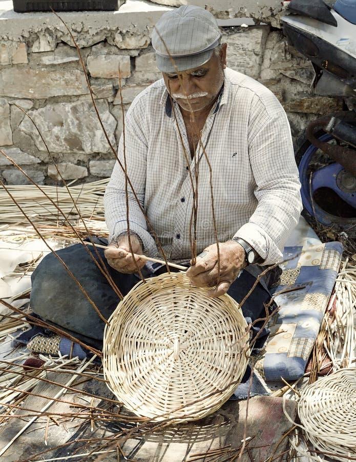 Free Basket Making. Editorial Royalty Free Stock Images - 120046369