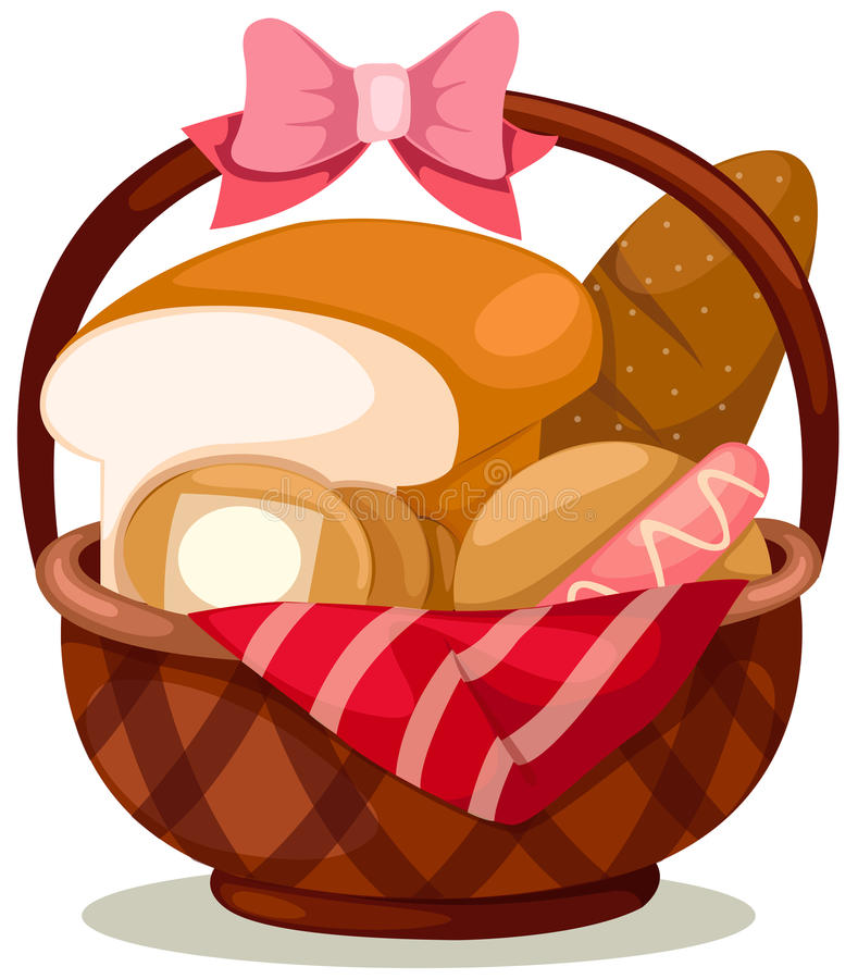 Free Basket Of Bread Royalty Free Stock Image - 15565186