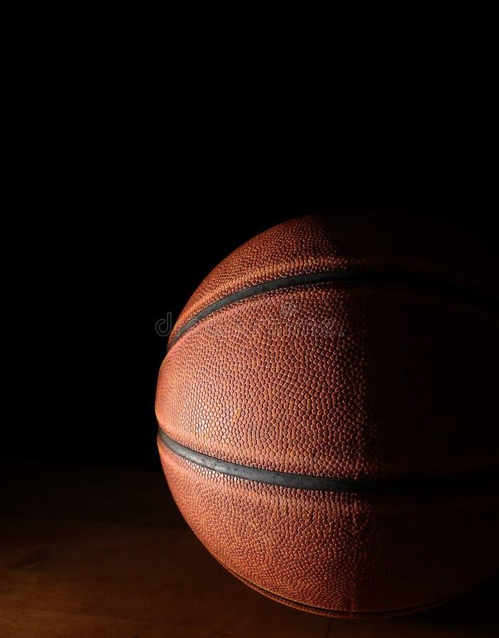 Basket på domstolen arkivbild