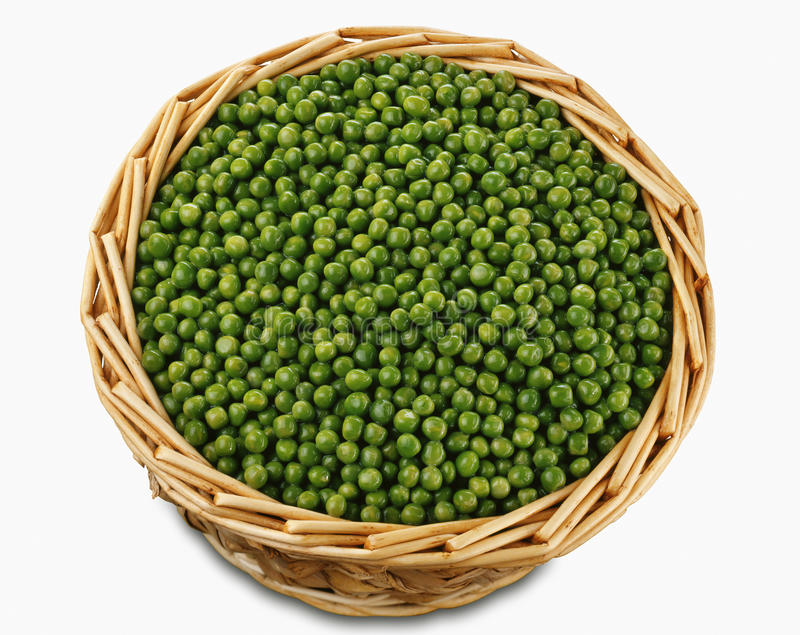 Download Basket of peas stock photo. Image of ingredient, color - 23709222