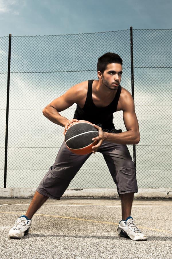 Basket Player stock photography