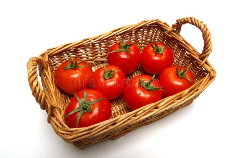 basket tomato стоковые фото