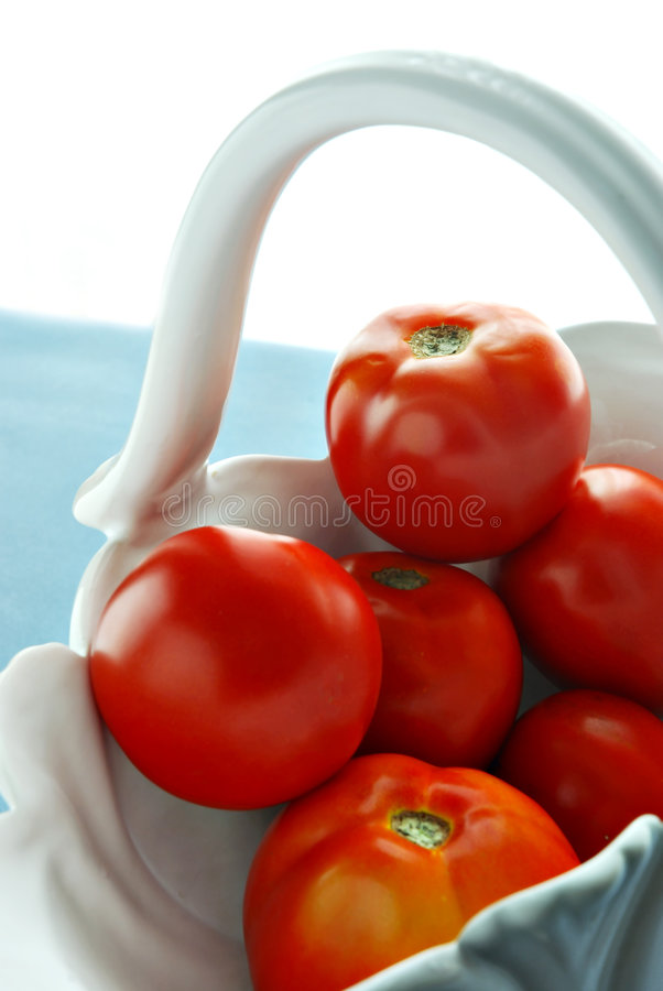 Download Basket of tomatoes stock photo. Image of space, details - 3014872