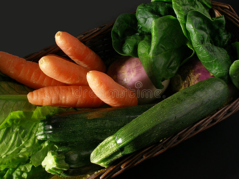 Download Basket of vegetables stock image. Image of carrot, zucchini - 2309501