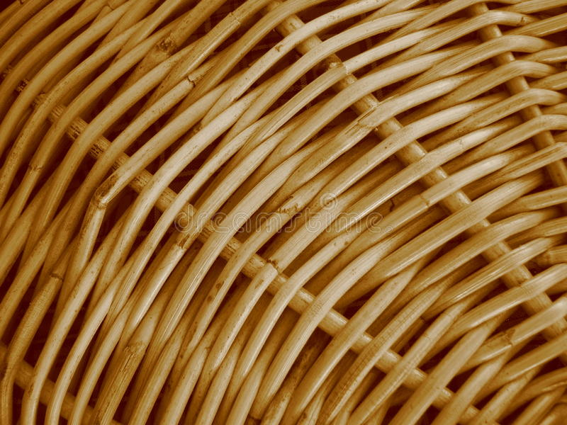 Basket Weave Macro Royalty Free Stock Images