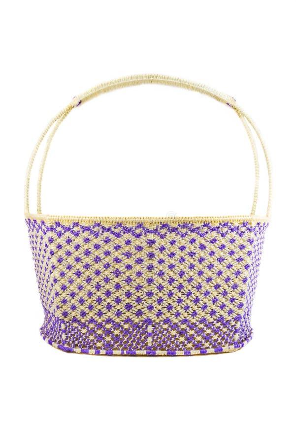 Basket weave stock photography