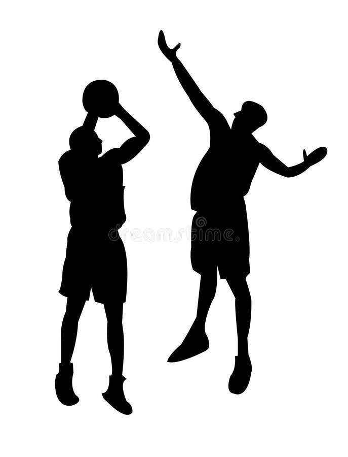 Basketbal 3 vector illustratie