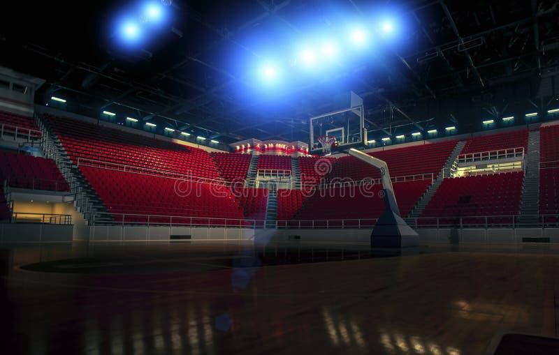 Basketbal court royalty-vrije stock foto