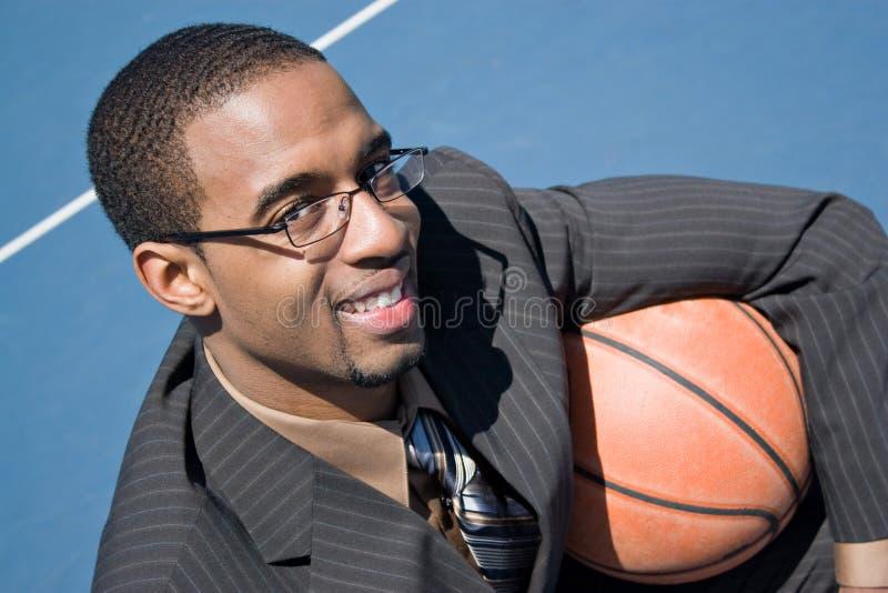 Basketbal Pro royalty-vrije stock afbeeldingen