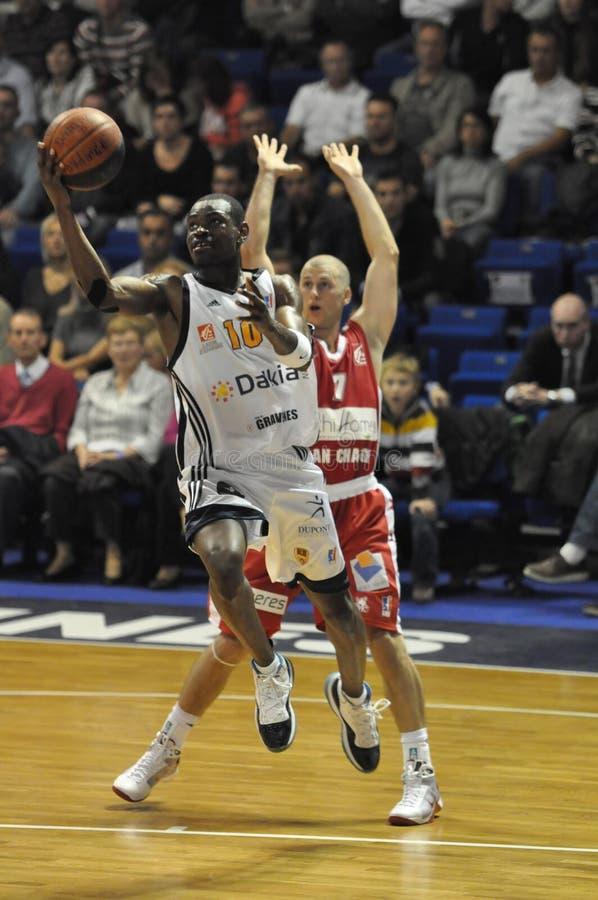 Basketbal Pro Frankrijk. stock foto