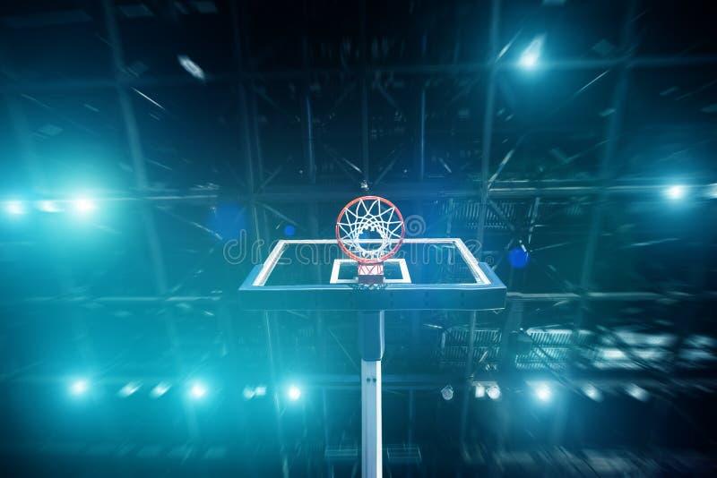 Basketbalarena royalty-vrije stock afbeeldingen