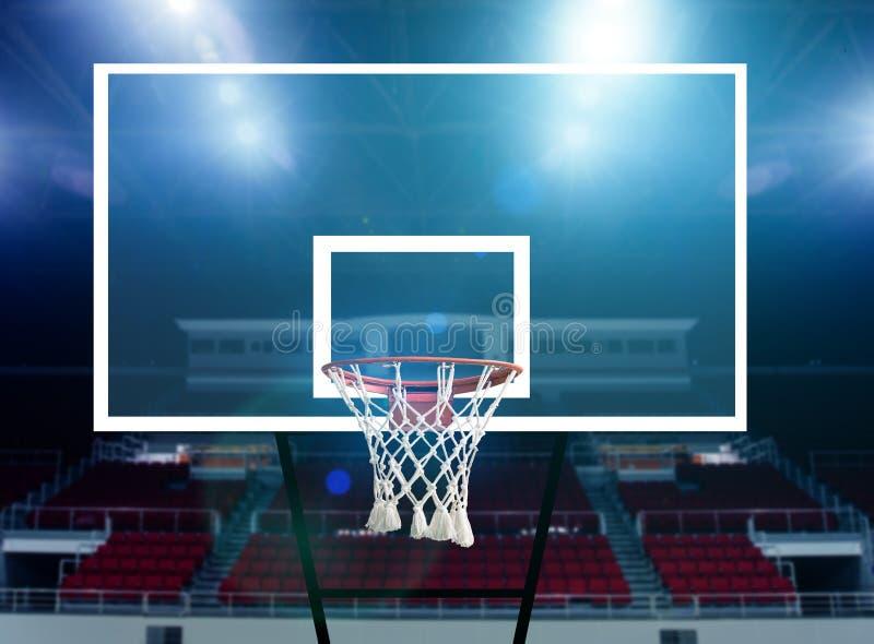 Basketbalarena stock foto