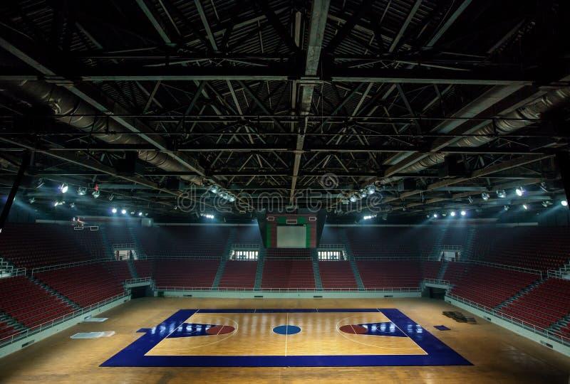 Basketbalarena in Istanboel stock afbeelding