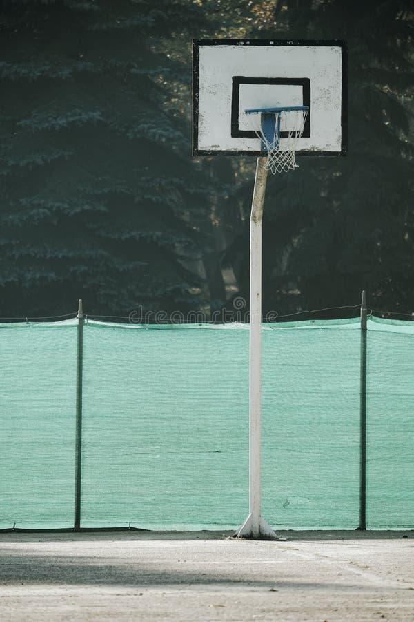 Basketbalhoepel stock foto