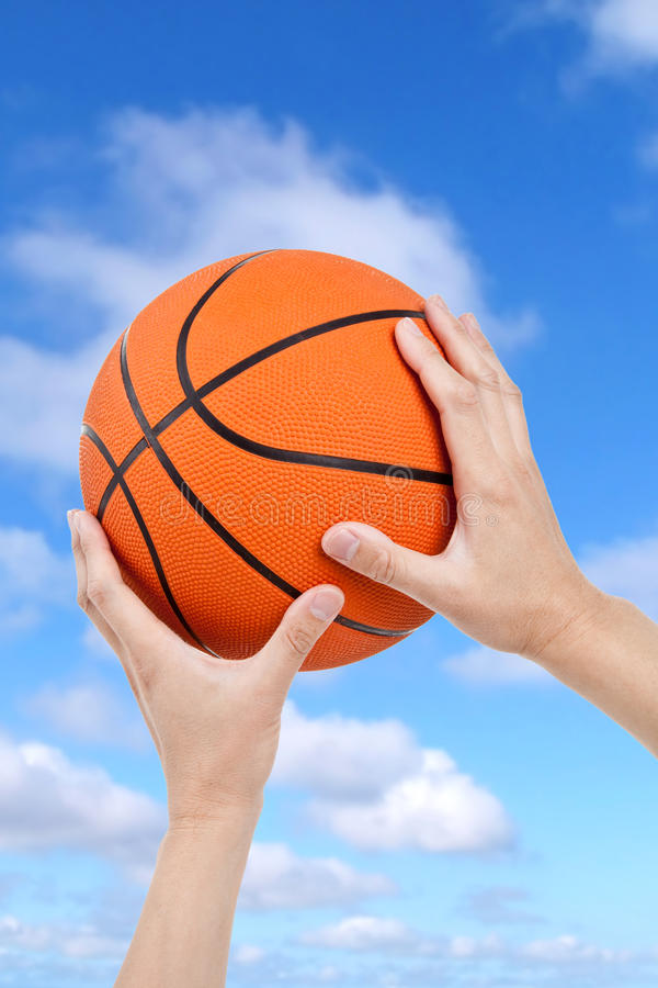 Download Basketball stock photo. Image of ball, blue, playing - 14858834