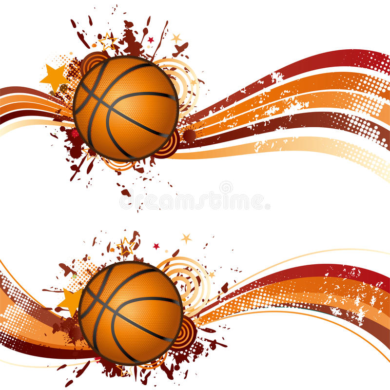 Download Basketball stock vector. Image of decoration, equipment - 15479932