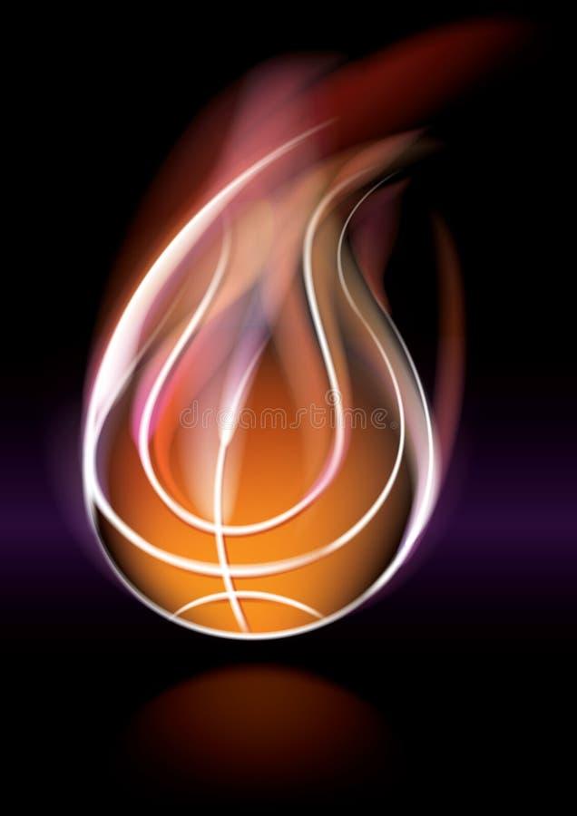 Basketball stock abbildung