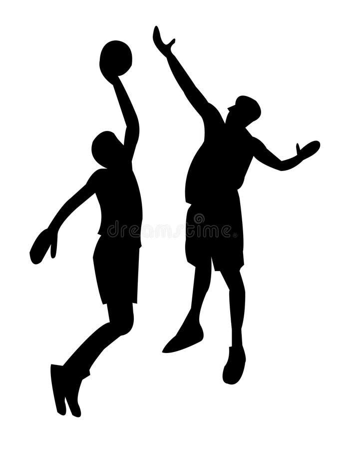 Basketball 2 lizenzfreie abbildung