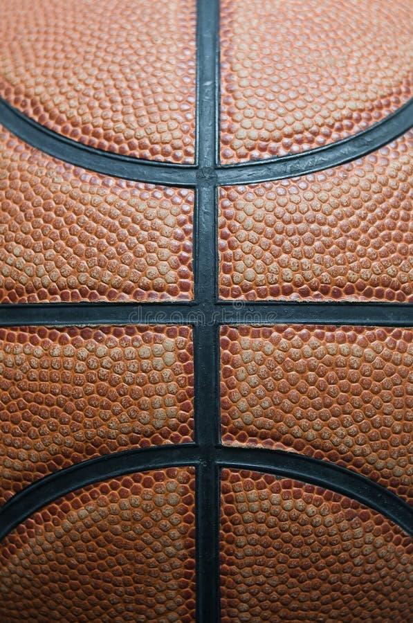 Basketball. Vertical close up photo of a basketball ball texture stock photo