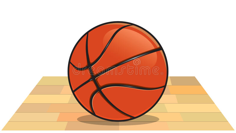 Download Basketball stock vector. Illustration of jumping, playing - 23876415