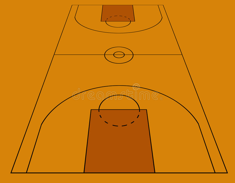 Download Basketball stock illustration. Image of ballsport, terrain - 322221