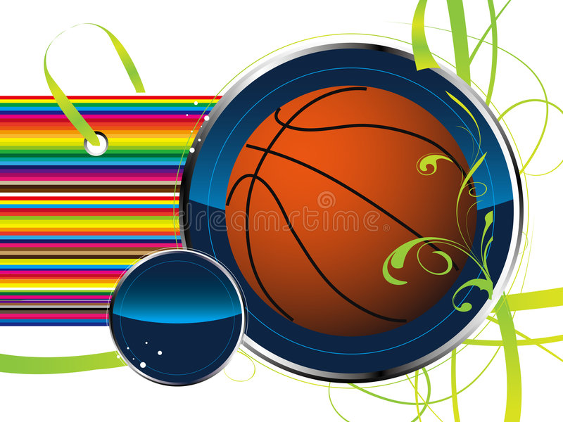 Download Basketball stock vector. Image of activity, shadow, black - 3641229