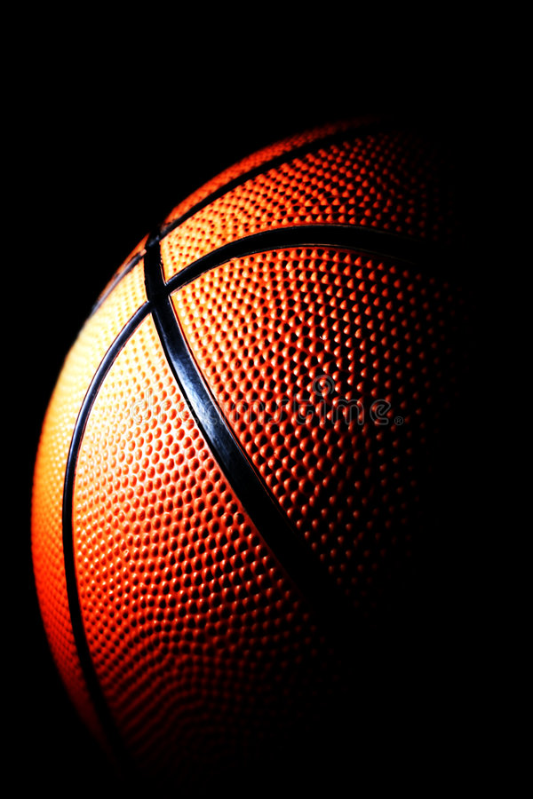 Download Basketball stock image. Image of dark, athletic, play - 4564429