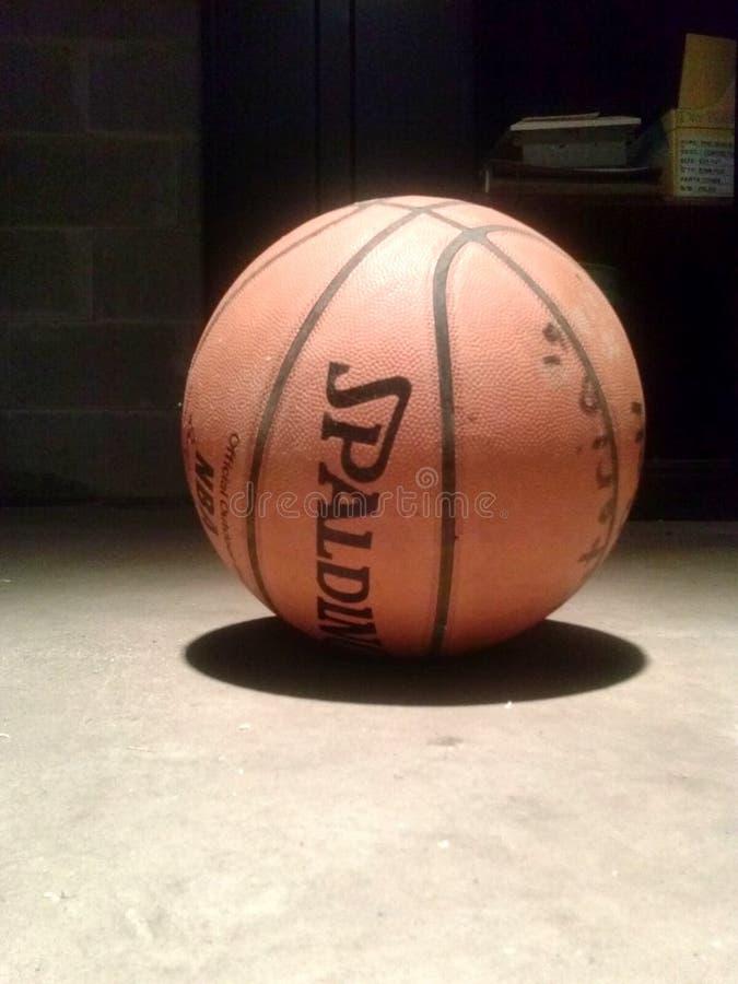 Basketball allein stockfotos