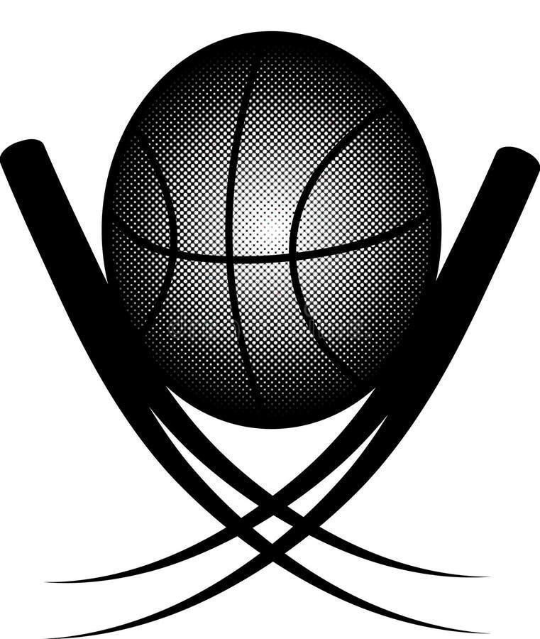 Trophäe-Basketball lizenzfreie stockfotos