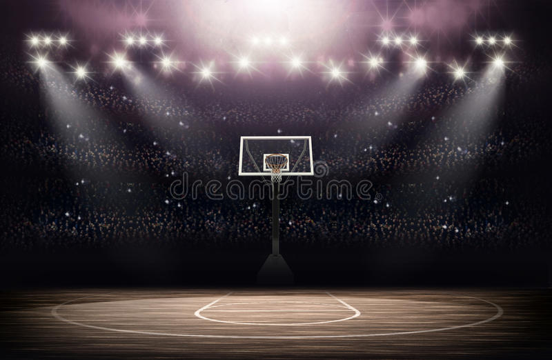 Basketball Arena background royalty free stock images