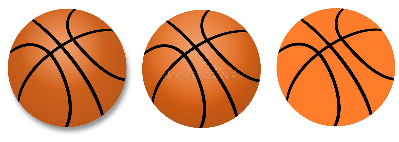 Basketball ball. Illustration of basketball ball. Basketball symbol