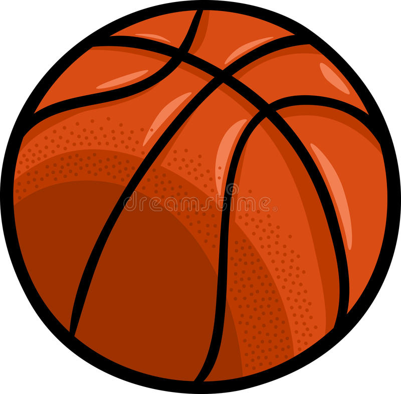basketball ball cartoon clip art stock vector illustration of game rh dreamstime com ball clipart png bell clip art free