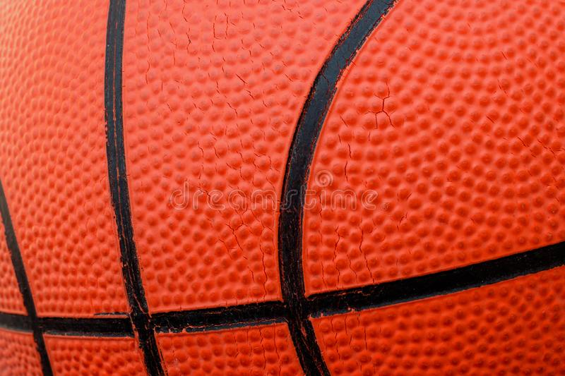 Basketball ball. Concept - sports competitions, game, training, match. Basketball ball. Concept - sports competitions, game, training, match royalty free stock photo